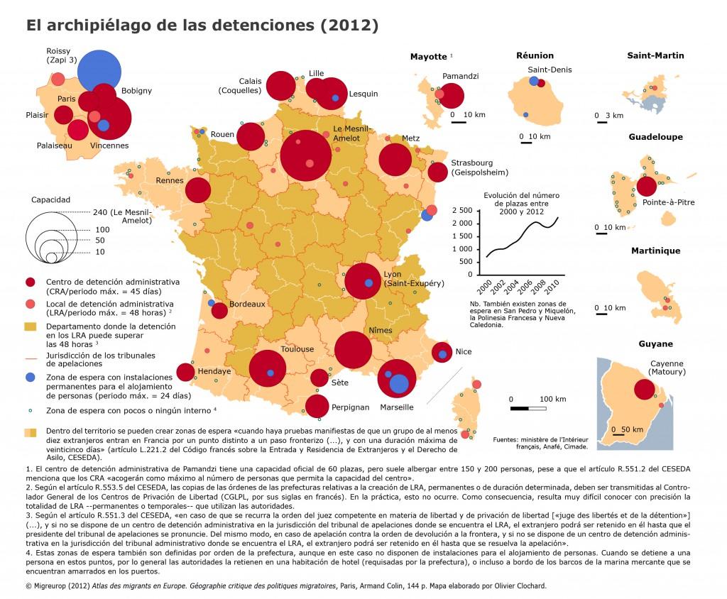 2012_Mapa_Atlas_El archipiélago de las detenciones